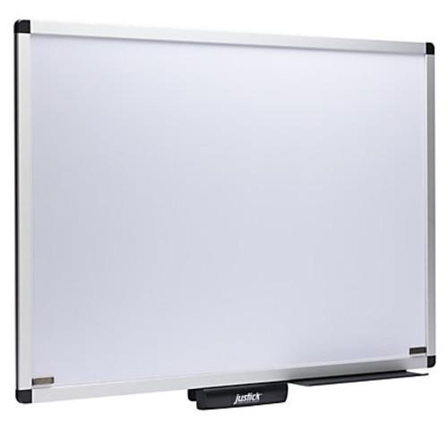 Smead Justick Dry-Erase White Board, Aluminum, 36