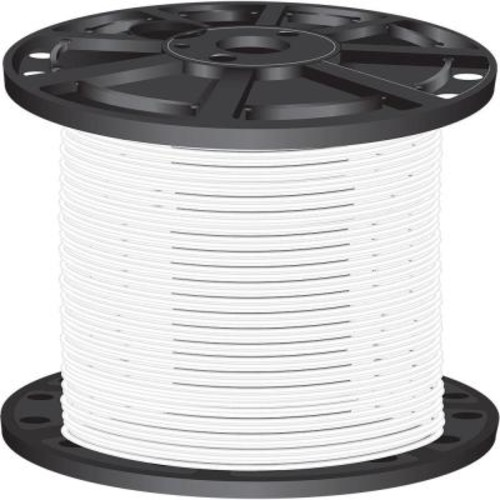 Southwire 2,500 ft. 10 White Solid CU THHN Wire