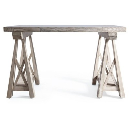 Griffin Sawhorse Coffee Table - Grey Mist - Haven Home