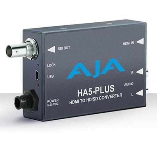 AJA HA5-Plus HDMI to 3G-SDI Mini-Converter HA5-PLUS