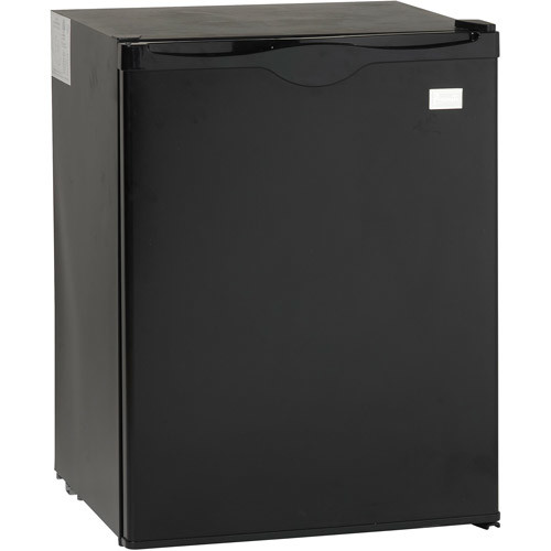 Avanti Model AR2416B - 2.2 Cu. Ft. All Refrigerator - 2.20 ft - Auto-defrost - Reversible - 2.20 ft Net Refrigerator Capacity - Black
