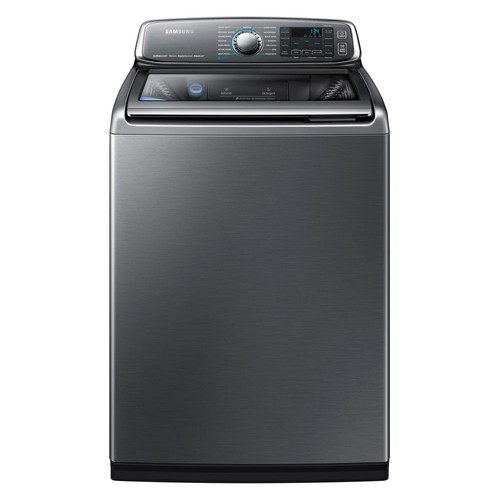 Samsung 5.2 cu. ft. High-Efficiency Top Load Washer with Activewash in Platinum, ENERGY STAR