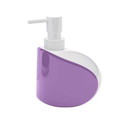 Gedy by Nameeks Moby Soap Dispenser; White and Lilac
