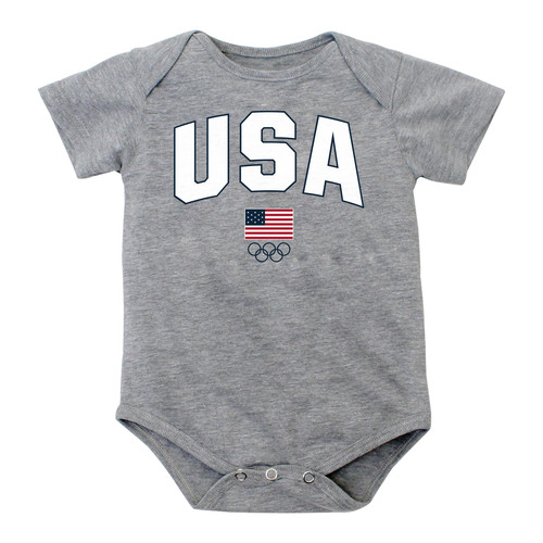 born and Infant Olympic Games Bodysuit - USA