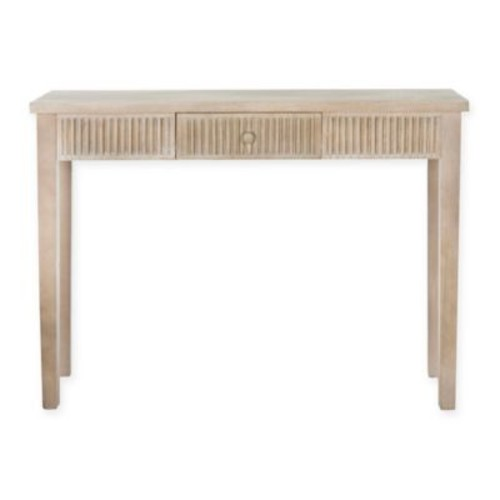 Safavieh Beale Console Table in Weathered Grey