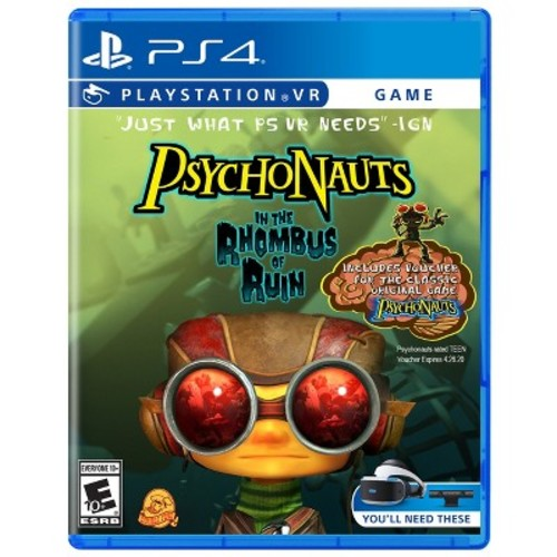 Psychonauts: In the Rhombus of Ruin PlayStation VR