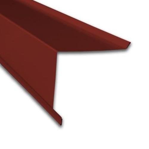 Metal Sales Gable Trim in Red