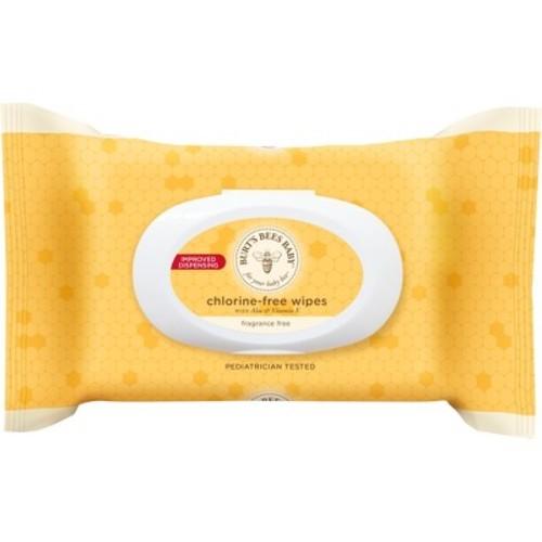 Burt's Bees Baby Chlorine-Free Wipes, 72 ct