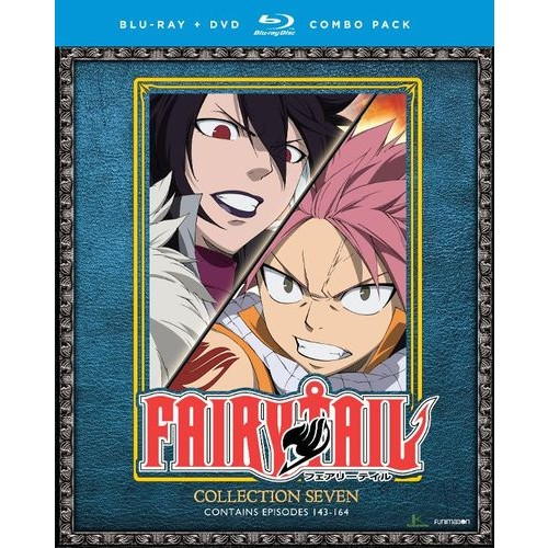 Fairy Tail: Collection Seven [Blu-ray/DVD] [8 Discs]