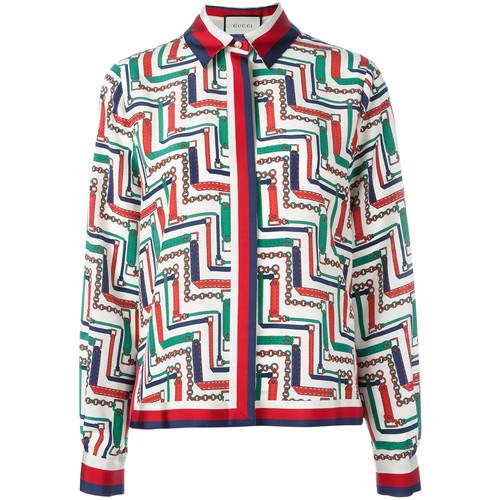 GUCCI Chain Print Pyjama Shirt