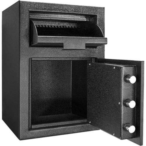 Barska - Standard Depository Keypad Safe - Black Matte