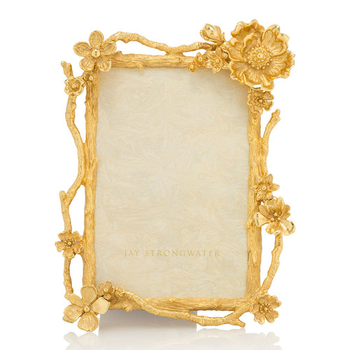 Floral Branch Picture Frame, 4 x 6