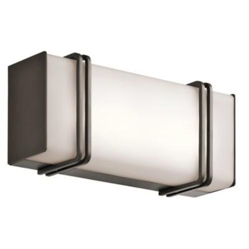 Orren Ellis Oliver 1-Light Bath Bar; Olde Bronze