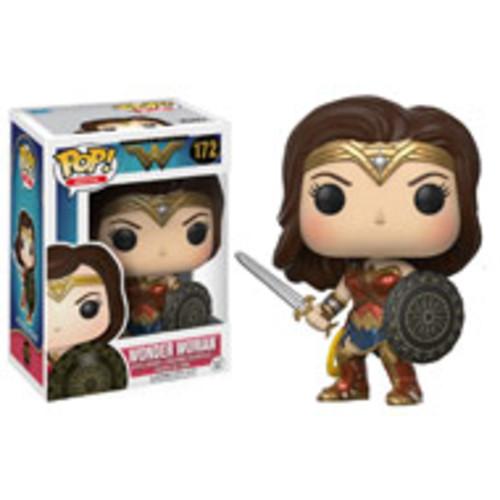 POP! Heroes: Wonder Woman with Sword & Shield