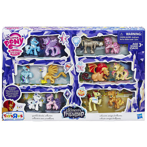 My Little Pony Elements of Friendship Sparkle Friends Collection Set