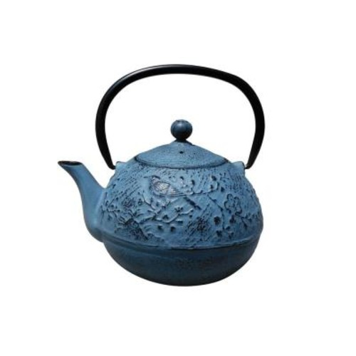 Dutch Suzume 3-Cup Teapot in Waterfall Blue