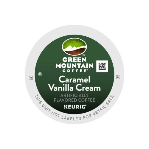 Green Mountain Coffee Caramel Vanilla Coffee K-Cup Pods, Box Of 24