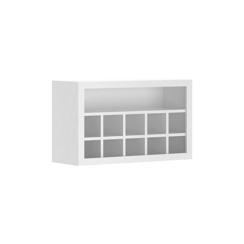 Hampton Bay Madison Assembled 12x18x30 in. Flex Wall Cabinet in Warm White