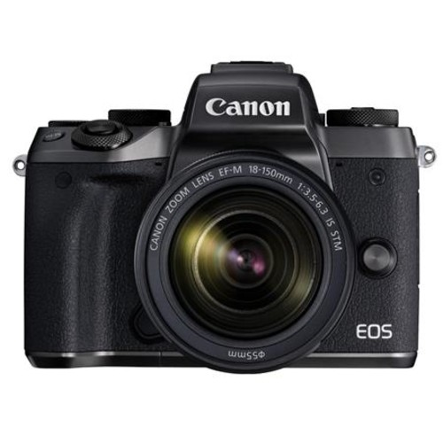 Canon EOS M5 Mirrorless with 18-150mm STM Lens With Canon Connect Station CS-100