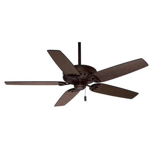 Casablanca 54-inch Concentra Brushed Cocoa Reversible Blade Ceiling Fan - Brushed Cocoa