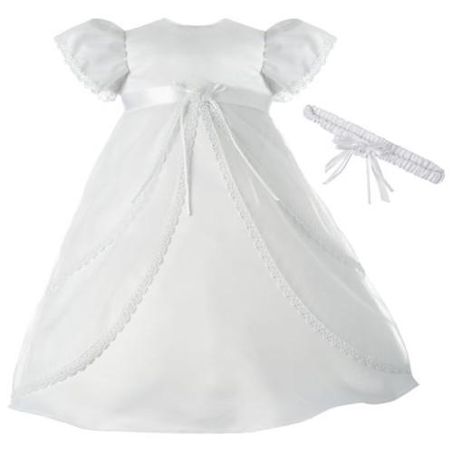 Keepsake Short Sleeve Dress Set - Baby Girls