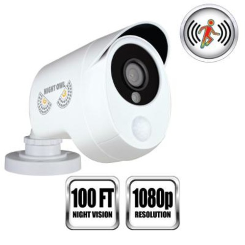 Night Owl 1080p Wired Smart Infrared Detection Camera
