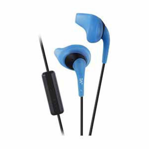 JVC Gumy Sport In-Ear Headphones with Microphone - Blue