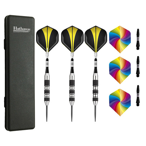 Hathaway The Tempest Steel Tip Darts - Set of 3