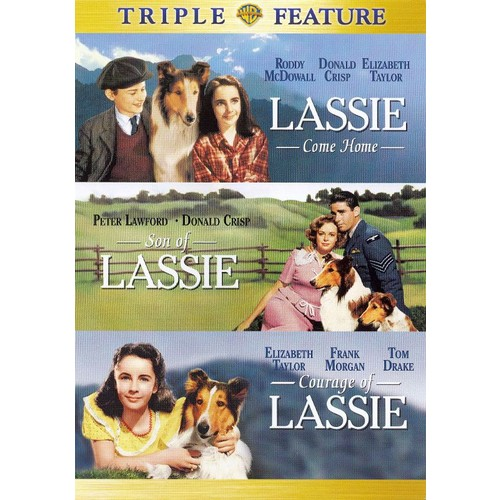 Lassie Come Home/Son of Lassie/Courage of Lassie [2 Discs] [DVD]