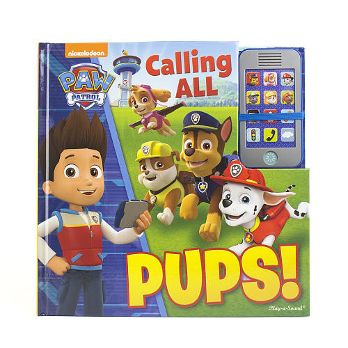Paw Patrol Calling All Pups! Sound Book