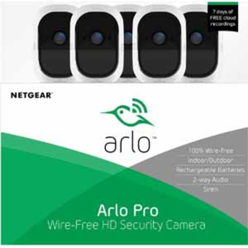 Arlo Pro System - 5 HD Security Camera