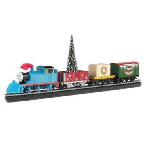 Bachmann Trains Bachmann Trains Thomas' Christmas Express HO Scale Ready To Run Electric Train Set