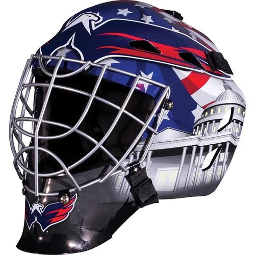 Franklin Sports GFM 1500 NHL Washington Capitals Goalie Face Mask