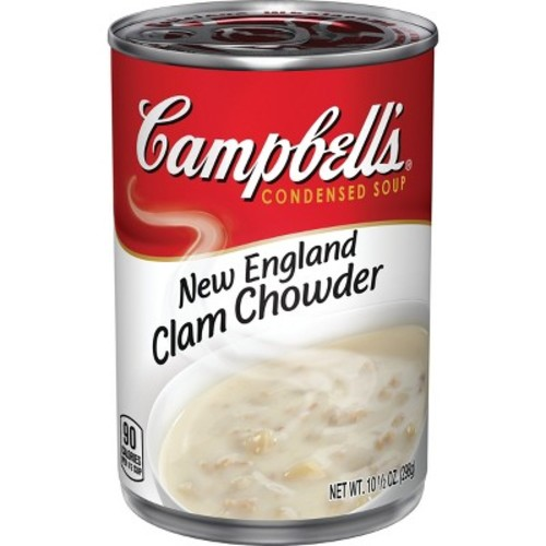Campbell's Condensed New England Clam Chowder Soup 10.5 oz