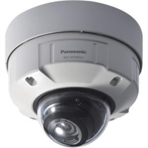 6 Series WV-SFV631LT Indoor/Outdoor 1080p Day/Night Vandal-Resistant Network Dome Camera with 9-22mm Lens (Light Gray)