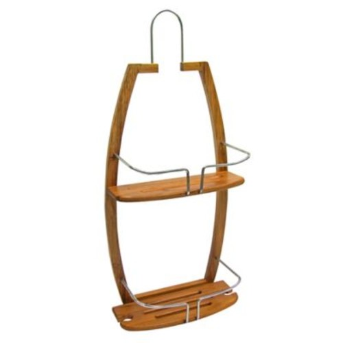 Spa Sensations Bamboo Shower Caddy