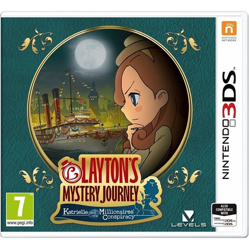 LAYTONS MYSTERY JOURNEY: Katrielle and the Millionaires' Conspiracy - Nintendo 3DS [Disc, Standard, Nintendo 3DS]