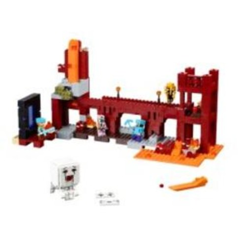 LEGO The Nether Fortress Minecraft Set