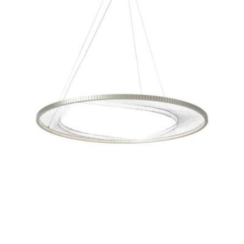 LBL Lighting Interlace 45 in. Satin Nickel LED Chandelier
