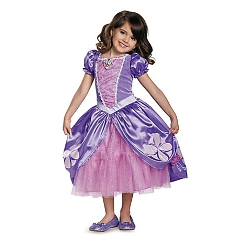 Sofia the First Sofia Deluxe Size 2T Child's Halloween Costume