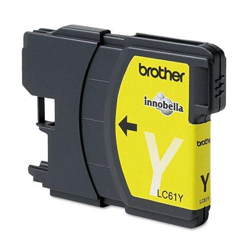 Brother BRTLC61Y LC61 Inkjet Cartridge, Yellow