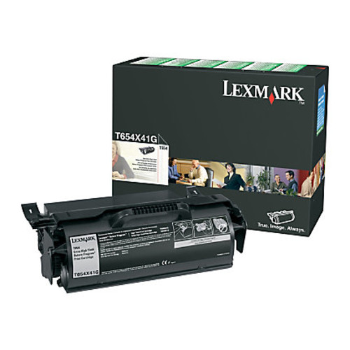 Lexmark T654X41G Extra-High-Yield Return Program Black Toner Cartridge