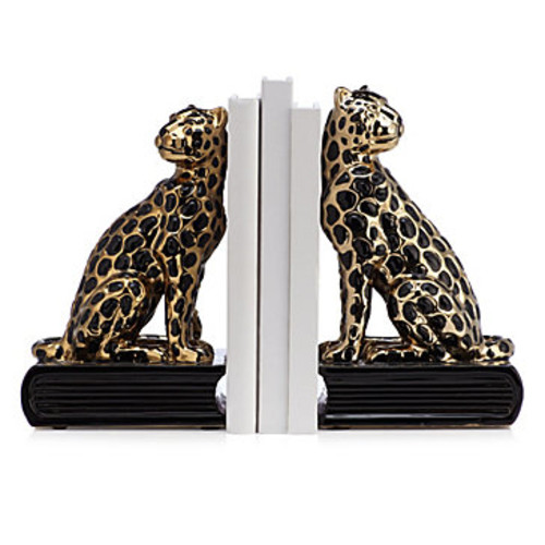 Jaguar Bookends