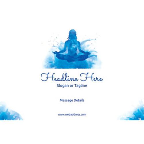 Custom Poster, Meditation, Horizontal