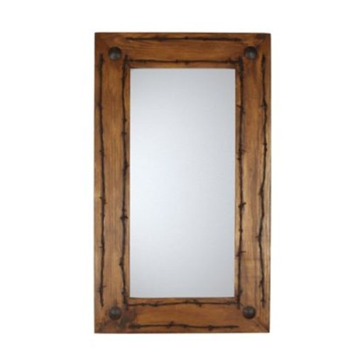 Loon Peak Lafollette Old Ranch Accent Mirror (Set of 30)