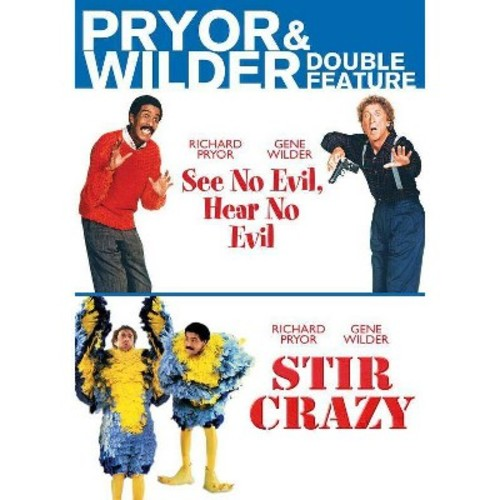 See no evil hear no evil/Stir crazy (DVD)