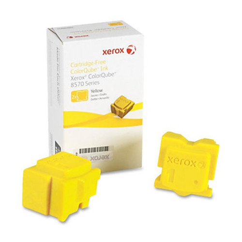 Xerox 108R00928 Solid Ink Stick Yellow 2ct