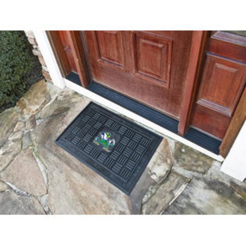 FANMATS 11377 Notra Dame Heavy Duty Front Outdoor Mat
