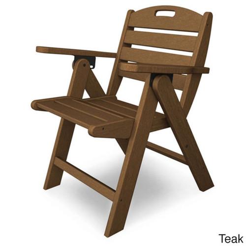 Polywood Polyethylene Nautical Low-back Chair
