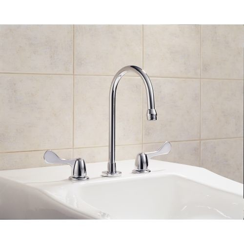 Delta 3579LF-WFHDF HDF Chrome Two Handle Widespread Lavatory Faucet